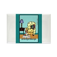 Funny Pets Rectangle Magnet