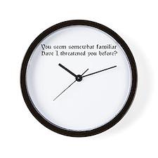 Funny Sparrows Wall Clock