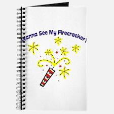 Wanna See My Firecracker? Journal