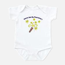 Wanna See My Firecracker? Infant Bodysuit