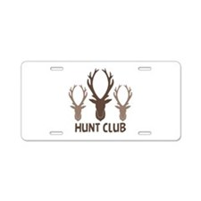 Deer Antler Head Silhouettes Hunt Club Aluminum Li