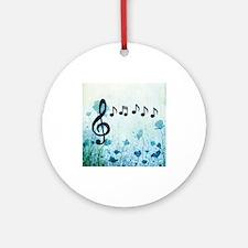 Musical Garden Ornament (Round)