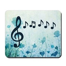 Musical Garden Mousepad