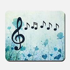 Musical Garden Mousepad