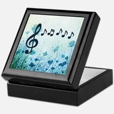 Musical Garden Keepsake Box