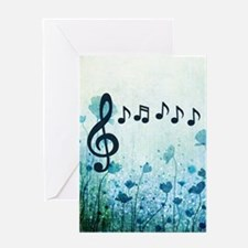 Musical Garden Greeting Cards