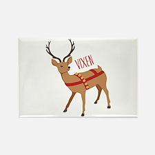 Reindeer Christmas Vixen Magnets