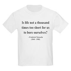 Nietzsche 12 Kids Light T-Shirt