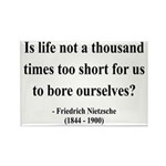 Nietzsche 12 Rectangle Magnet (100 pack)