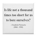 Nietzsche 12 Tile Coaster