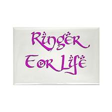 Ringer for Life 16 Rectangle Magnet