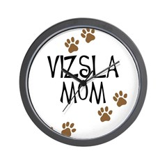 vizsla mom Wall Clock