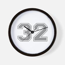 32 Wall Clock