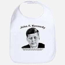 JFK War Bib