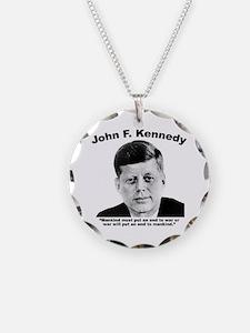 JFK War Necklace