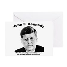JFK War Greeting Card