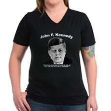White JFK War Shirt