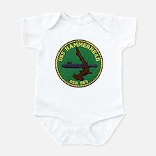 USS HAMMERHEAD Infant Bodysuit