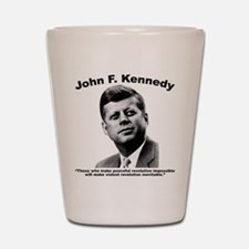 JFK Revolution Shot Glass