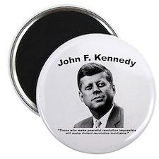 JFK Revolution Magnet