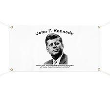 JFK Revolution Banner