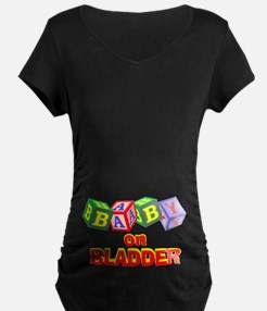 ON BLADDER Maternity tee