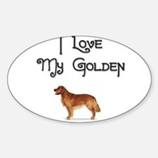 Golden 1 Oval Decal