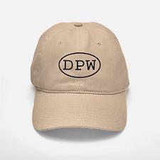 DPW Oval Baseball Baseball Cap