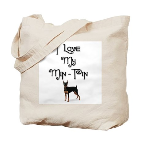 Min Pin 1 Tote Bag