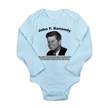 JFK Conservatives Long Sleeve Infant Bodysuit