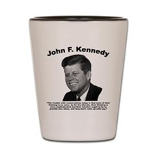 JFK Conservatives Shot Glass