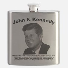 JFK Conservatives Flask