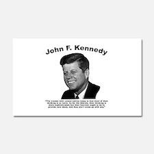 JFK Conservatives Car Magnet 20 x 12
