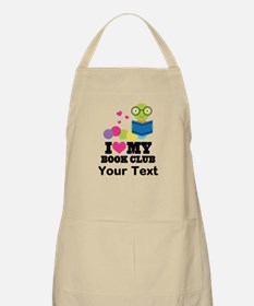 I Love My Book Club Apron