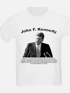 JFK Ask Not T-Shirt