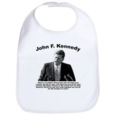 JFK Ask Not Bib