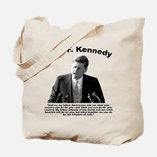 JFK Ask Not Tote Bag