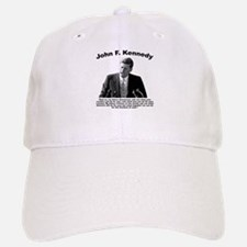 JFK Ask Not Baseball Baseball Cap