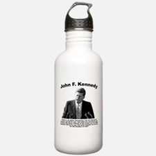 JFK Ask Not Water Bottle