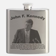 JFK Ask Not Flask