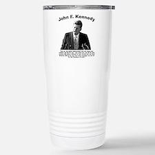 JFK Ask Not Travel Mug