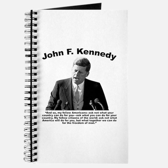 JFK Ask Not Journal