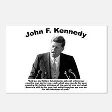 JFK Ask Not Postcards (Package of 8)