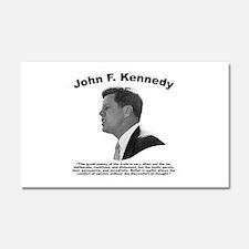 JFK Truth Car Magnet 20 x 12