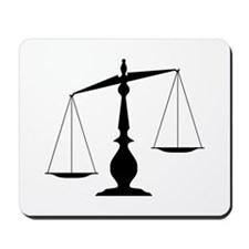 Balanced Scales Mousepad
