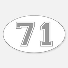 71 Decal