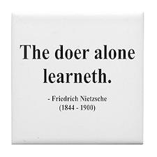 Nietzsche 14 Tile Coaster