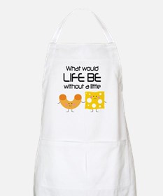 Mac and Cheese Funny Quote Apron