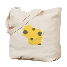 Wisconsin State Tote Bag