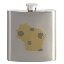 Wisconsin State Flask